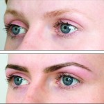 HD Brow before and after